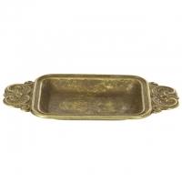 Блюдо овальное с ручками Stilars 3.124А Bronze