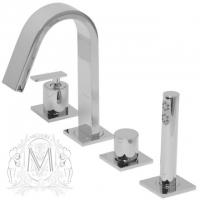 Смеситель на борт ванны Migliore Alimatha ML.ALC-5755 CR