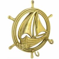 Ключница настенная Stilars 00072 Gold