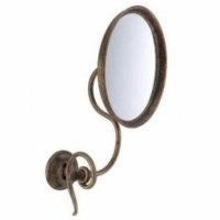 Зеркало косметическое Stilars Onda Antique bronze 131623