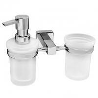 Диспенсер и стакан WasserKRAFT Lippe K-6589 CR