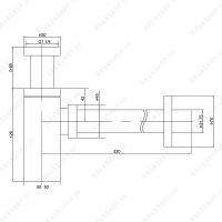 Сифон для раковины TIMO 958-L