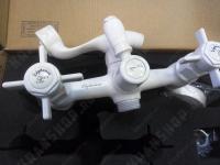 Cмеситель для ванны Elghansa Praktic 2312660-White Stone