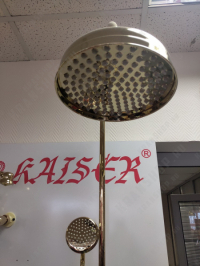 Душевая система Kaiser Aria 03182-3 Gold