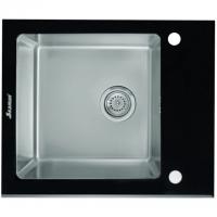 Кухонная мойка Seaman Eco Glass SMG-610B Black