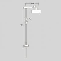 Душевая система Veragio AGATHA VR.AGA-9940.CR