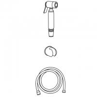 Гигиеническая лейка в наборе Veragio KIT VR.KIT-2229.CR
