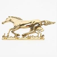 Вешалка для одежды ''Лошадь'' Stilars 01093 Gold