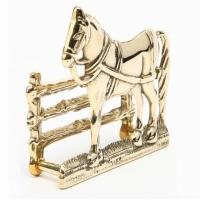 Держатель для бумаг ''Лошадь'' Stilars 00343 Gold