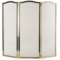 Каминный экран декоративный Stilars 01306 Gold