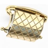 Бумагодержатель Stilars 01915 Gold