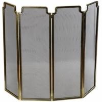 Каминный экран декоративный Stilars 1046N Gold