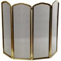 Каминный экран декоративный Stilars 1096N Gold