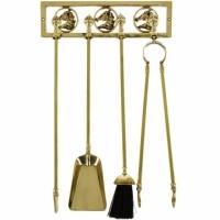 Каминный набор настенный Stilars 1.211 Gold