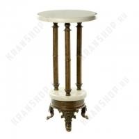 Столик на трех ножках Stilars 130376М Bronze