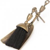 Аксессуар для камина совок-метелка Stilars 130395 Bronze