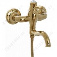 Cмеситель для ванны Bennberg 130717 Золото