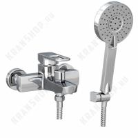 Однорычажный смеситель для ванны с душем Bennberg 131023 (хром)