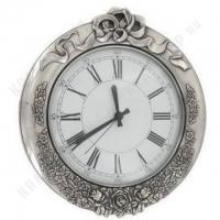 Часы настенные Stilars 141187 Silver