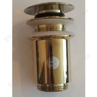 Донный клапан для раковины Kaiser 8011 Gold