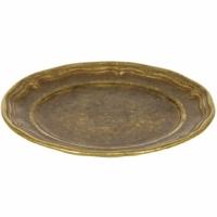 Блюдо Stilars 3.120А Bronze