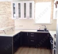 Смеситель Kaiser Decor 40144-2 черный в крапинку для кухни