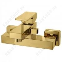 Однорычажный смеситель для ванны с душем Bennberg 37035 (золото)