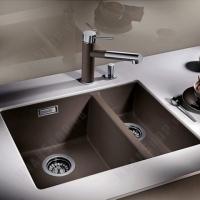 Кухонная мойка Kaiser KG2M-8050-BP Black Pearl