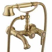 Смеситель для ванны ZorG Antic A 200W-Bronze