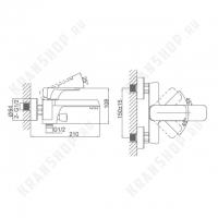 Cмеситель для ванны D&K Berlin Technische DA1433215