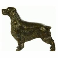Статуэтка ''Собака - Кокер'' Stilars F-245А Bronze