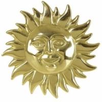 Настенное украшение ''Солнце'' Stilars F-337 Gold