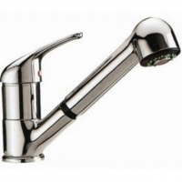 Смеситель для кухни с вытяжным душем KorDi KD M508 - C27