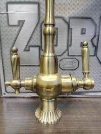 Смеситель для кухни под фильтр Zorg Sanitary ZR 351 YF Bronze