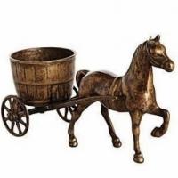 Статуэтка ''Лошадь с тележкой'' Stilars 130546 Bronze