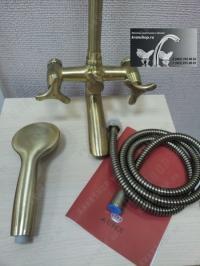 Душевая система Kaiser Trio 57188 Bronze