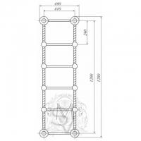 Полотенцесушитель водяной Migliore Edera ML.EDR-HY.210 DO