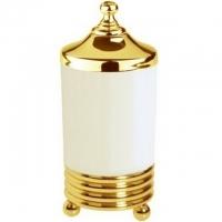Стакан для ватных дисков Boheme Hermitage 10364 Gold