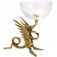 Чаша декоративная ''Дракон'' Stilars 01977 Gold