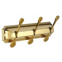 Планка с 3-мя крючками Elghansa Hermitage HRM-730 Gold