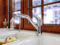 Смеситель для кухни (мойки) Elghansa Kitchen Pure Water 5602623-New однорычажный хром